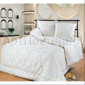 1,5-спальное одеяло из овечьей шерсти (облегченное)  Артпостель Премиум