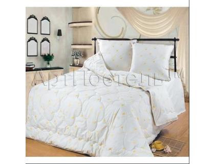 2-спальное одеяло из овечьей шерсти (облегченное)  Артпостель Премиум