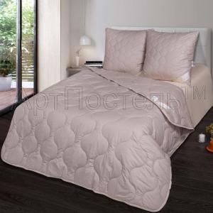 2-спальное одеяло из верблюжьей шерсти Артпостель Премиум