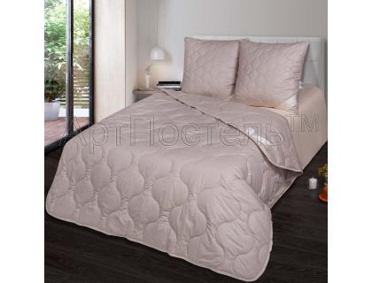 1,5-спальное одеяло из верблюжьей шерсти (облегченное) Артпостель Премиум