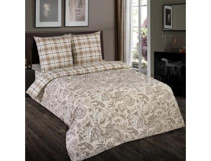 Двуспальный комплект постельного белья из поплина Артпостель Ода