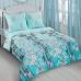 Двуспальный комплект постельного белья из поплина Артпостель Инь-янь бирюза