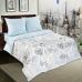 Двуспальный комплект постельного белья из поплина Артпостель Поэзия