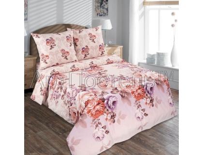 Двуспальный комплект постельного белья из поплина Артпостель Карамельная роза