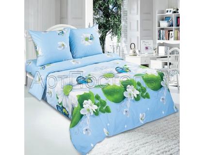 Двуспальный комплект постельного белья из поплина Артпостель Дыхание лета