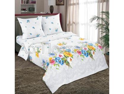 Двуспальный комплект постельного белья из поплина Артпостель Аннушка