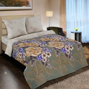 Постельное белье Артпостель Золотая вышивка (2-спальное, поплин)