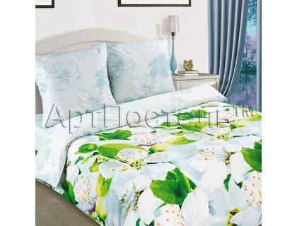 Двуспальный комплект постельного белья из поплина Артпостель Цветущий май