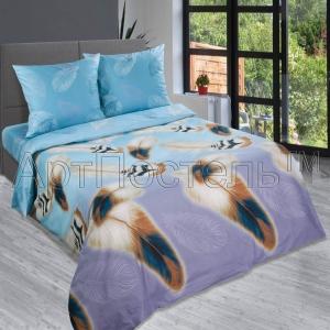 Постельное белье Артпостель Перья (2-спальное, поплин)