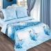 Двуспальный комплект постельного белья из поплина Артпостель Серебро
