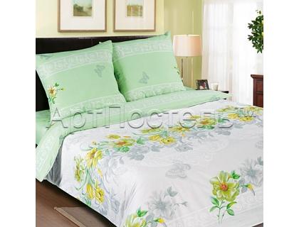 Двуспальный комплект постельного белья из поплина Артпостель Белла