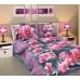 2-спальный комплект постельного белья из бязи Текс-Дизайн Дикая орхидея