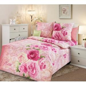 Постельное белье Текс-Дизайн Аромат розы (1,5 спальное, бязь)