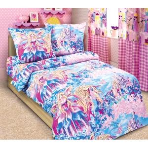 Детское постельное белье Текс Дизайн Страна чудес  (1,5-спальное, бязь)