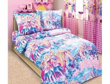 Детский комплект постельного белья из бязи Текс Дизайн Страна чудес  (1,5-спальный)