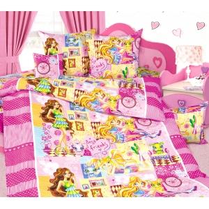 Детское постельное белье Текс Дизайн Любимчики  (1,5-спальное, бязь)