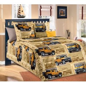 Детское постельное белье Текс Дизайн Сафари  (1,5-спальное, бязь)