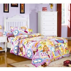 Детское постельное белье Текс Дизайн Модники  (1,5-спальное, бязь)