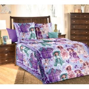 Детское постельное белье Текс Дизайн Куклы  (1,5-спальное, бязь)