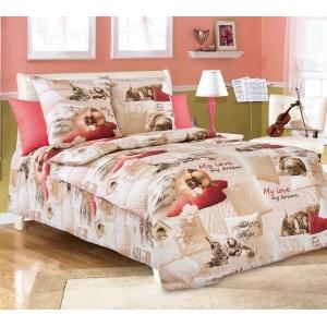 Детское постельное белье Текс Дизайн Милый друг  (1,5-спальное, бязь)
