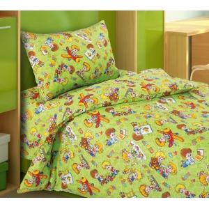Детское постельное белье Текс Дизайн Непоседы  (1,5-спальное, бязь)