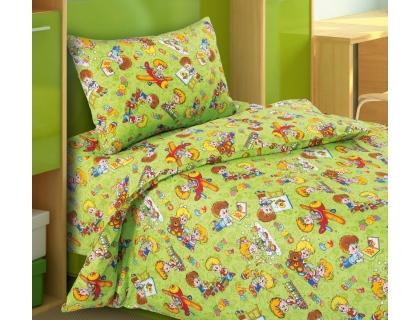Детский комплект постельного белья из бязи Текс Дизайн Непоседы  (1,5-спальный)