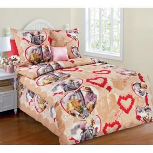 Детское постельное белье Текс Дизайн Дружба  (1,5-спальное, бязь)