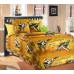 Детский комплект постельного белья из бязи Текс Дизайн Стражи неба оранжевый (1,5-спальный)