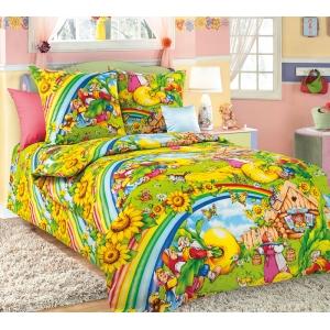 Детское постельное белье Текс Дизайн Репка  (1,5-спальное, бязь)