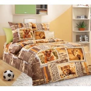 Детское постельное белье Текс Дизайн Зов джунглей  (1,5-спальное, бязь)