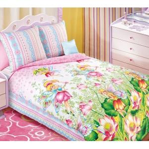 Детское постельное белье Текс Дизайн Волшебный мир (1,5-спальное, бязь)
