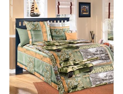 Детский комплект постельного белья из бязи Текс Дизайн Танк (1,5-спальный)