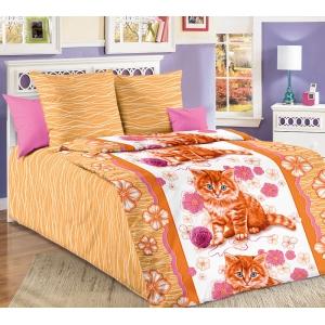 Детское постельное белье Текс Дизайн Рыжик (1,5-спальное, бязь)