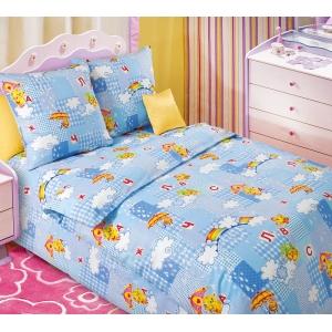 Детское постельное белье Текс Дизайн Радуга  (1,5-спальное, бязь)