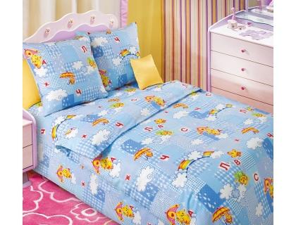 Детский комплект постельного белья из бязи Текс Дизайн Радуга  (1,5-спальный)