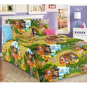 Детское постельное белье Текс Дизайн Машенька (1,5-спальное, бязь)