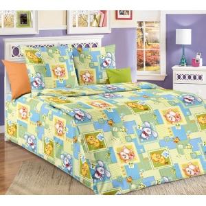 Детское постельное белье Текс Дизайн Алфавит (1,5-спальное, бязь)
