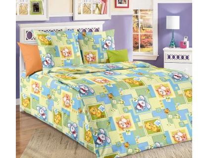 Детский комплект постельного белья из бязи Текс Дизайн Алфавит (1,5-спальный)