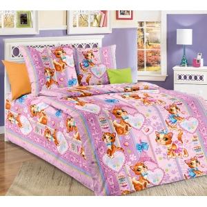 Детское постельное белье Текс Дизайн Мур Мур (1,5-спальное, бязь)