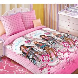 Детское постельное белье Текс Дизайн Мода (1,5-спальное, бязь)