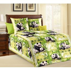 Детское постельное белье Текс Дизайн Панды (1,5-спальное, бязь)