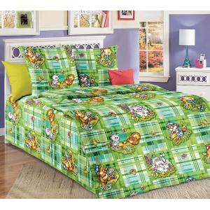 Детское постельное белье Текс Дизайн Затейники (1,5-спальное, бязь)