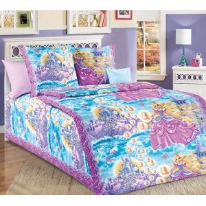 Детское постельное белье Текс Дизайн Принцесса  (1,5-спальное, бязь)