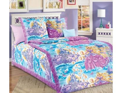 Детский комплект постельного белья из бязи Текс Дизайн Принцесса  (1,5-спальный)