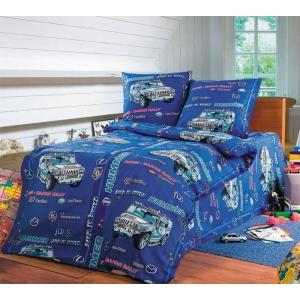 Детское постельное белье Текс Дизайн Хаммер (1,5-спальное, бязь)