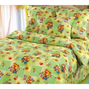 Детское постельное белье Текс Дизайн Веселая полянка  (1,5-спальное, бязь)