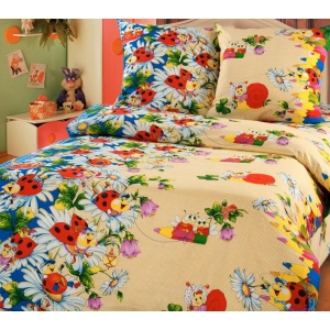 Детское постельное белье Текс Дизайн Карандаши  (1,5-спальное, бязь)