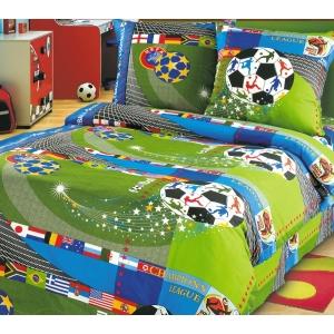 Детское постельное белье Текс Дизайн Чемпионат  (1,5-спальное, бязь)