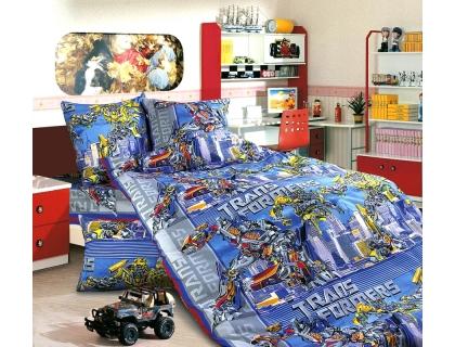 Детский комплект постельного белья из бязи Текс Дизайн Трансформеры (1,5-спальный)