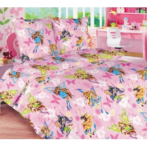 Детское постельное белье Текс Дизайн Волшебницы  (1,5-спальное, бязь)